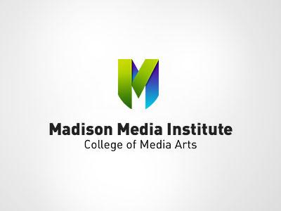Medison Media Institute2 logo design