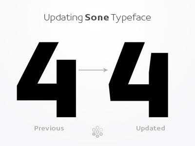 4 - Sone Typeface Update in Progress typeface type design sone soneritype font letter character glyph