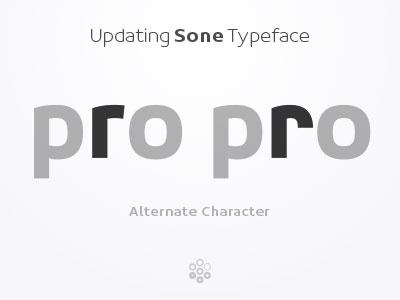 r-alt - Sone Typeface Update in Progress typeface type design sone soneritype font letter character glyph