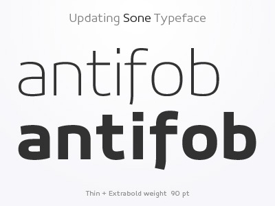 Weights - Sone Typeface Update in Progress typeface type design sone soneritype font letter character glyph