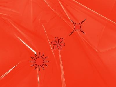 SLICK –Plastic Wrap Mockup Textures