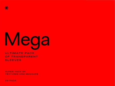 MEGA –Transparent Sleeve Pack texture free transparent mockup print mockups print design experimental magazine editorial mockup editorial stationary mockup stationary brand mockup branding plastic mockup plastic sleeve clear transparent free mockups mockups mockup