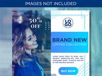 Blue Social Media Sale Banner Templates for Instagram