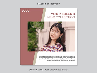 Free Instagram Post Templates Photoshop PSD File