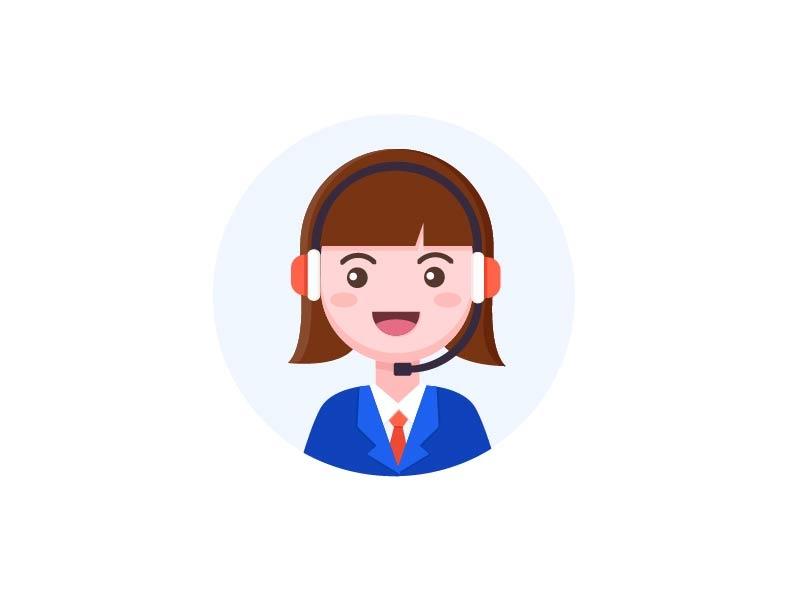 Customer service 设计 插图