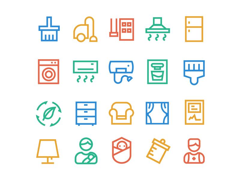 furniture icon 图标