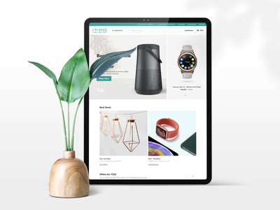 Croma Online Store simple ecommerce electronics shopping online store abstract color creative 2020 trend dribbble best shot branding design typography white web concept minimal clean ux ui