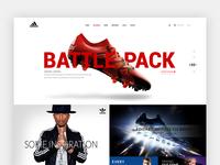 Adidas Shop Redesign Concept