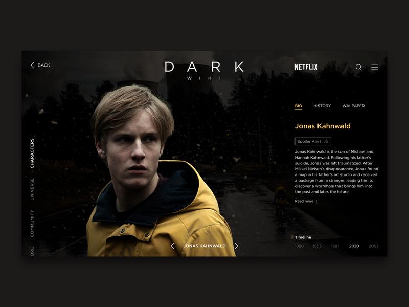 Netflix Dark Concept dailyinspiration landingpage uitrends figma web uxui ux uiux ui dailyui netflix dark