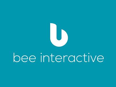 Bee Interactive, digital agency logo communication digital logo agency