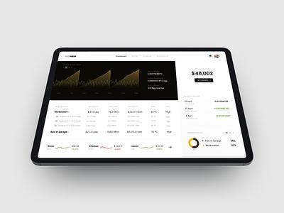 Ipad Pro Mockup interfaces finance dashboard userexperiencedesign userinterfacedesign userexperience userinterface uiux ux ui design apple 360mockups mockup
