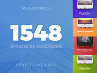 1548 iPhone 6s mockups