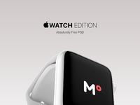 Dribbble iwatch freebies attachment