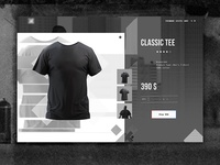 eCommerce - Product Page Concept