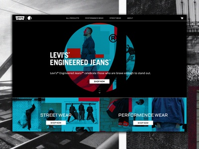 Levi's® Engineered Jeans™ Concept - Homepage