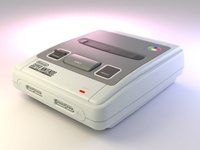 Super NES model SNS-101 (FRG) - Hardsurface