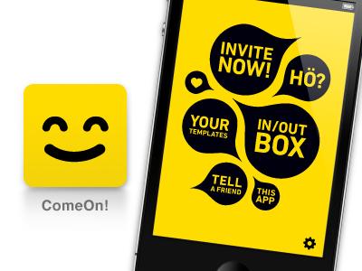 ComeOn! App Icon