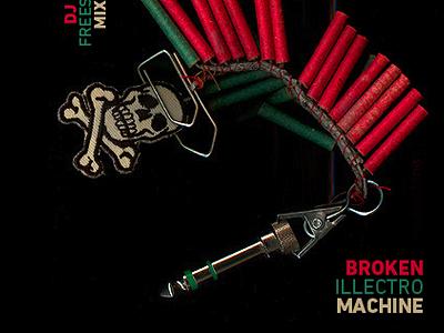 "Mixtape Cover ""broken electro machine"""