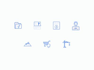 Solidus Icon Set