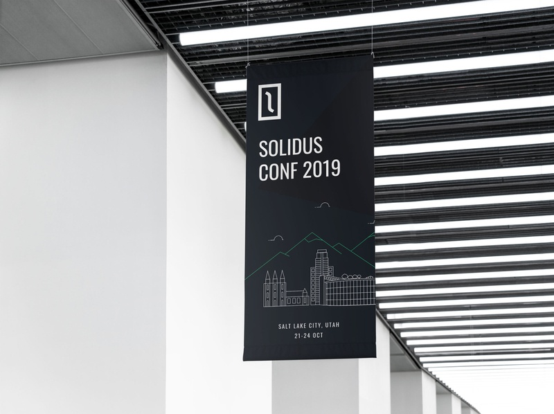 Solidus Conf 2019 • Flag flag design flag conference solidus