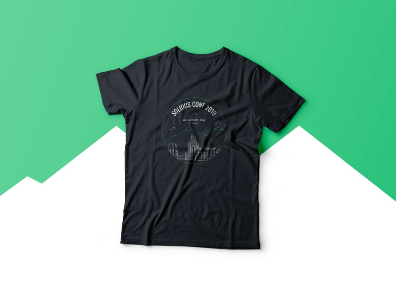 Solidus Conf 2019 • T-shirt tshirtdesign tshirt swag solidus logo conference apparel