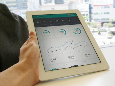 Twenty Seven Dashboard dashboard admin charts graphs ui flat
