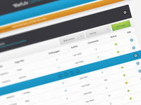 CMS Dashboard Pages