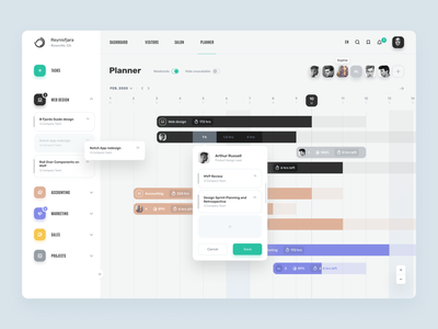 Ø Planner page dashboard template dashboard app dashboard calendar figmadesign teamwork team management management app planner figma minimalist dark uiux simple minimal ios design clean ux ui