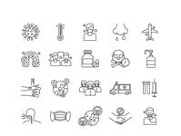 Coronavirus Vector Icons