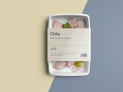 Disposable Food Container Mockup psd package psd download psd mockup psd photoshop product design print design branding package download package design package packaging mockup download mockup design package mockup mockup food package food mockup food