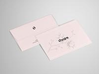 Letter and Envelope Mockup - PSD