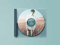 Transparent CD Case Mockup PSD