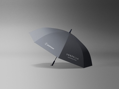 Simple Umbrella Mockup