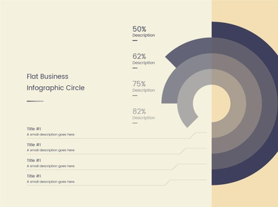 Business Infographic Cirlce