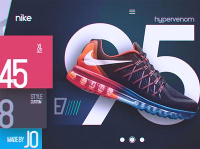 Free Futuristic Ui Ux Nike Design