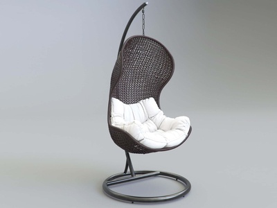 3D Parlay Chair Model