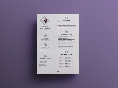 Neat Resume Template