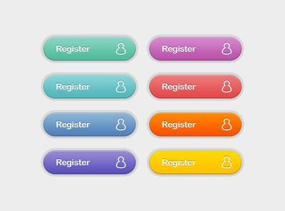 Photoshop Register Buttons