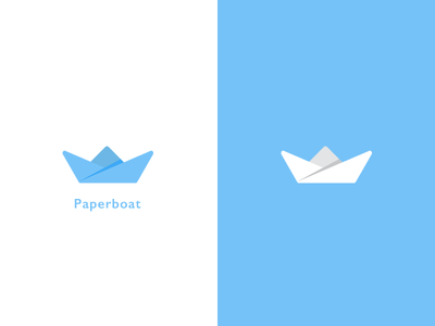 Paperboat Logo By Choirul Anwar