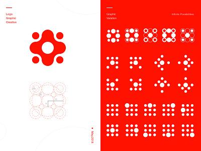 Vital logo creativity app trindy mark brandbook negative design logo palette designer identity branding