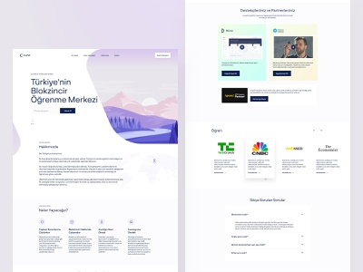 LunaDao Landing Page home landing hero webflow website clean ux design ui