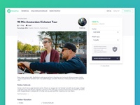 Tour Detail and Payment Page