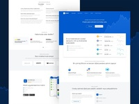 Crypto Wallet Landing Page (Re)Design
