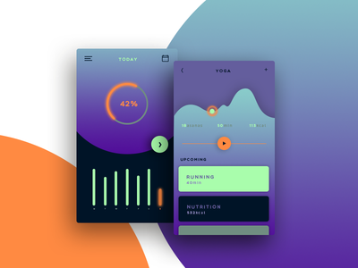 Daily Ui Challenge #041 - Workout Tracker workout tracker web design interface ux ui challenge dailyui