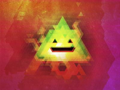 Triangular acid smile