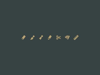 Entypo+ artistic tools