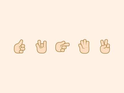 Voca Emoji Hands