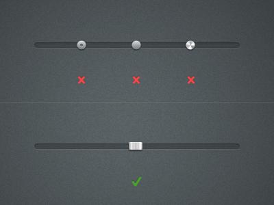 Slider Handle Rebound Challenge ui ux interface
