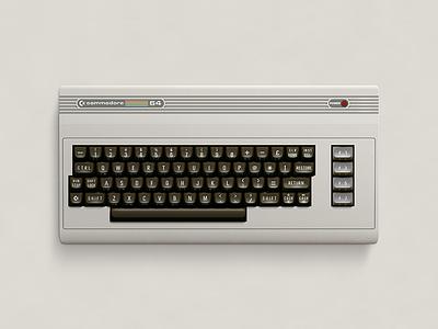 C64 Full vector photoshop illustration