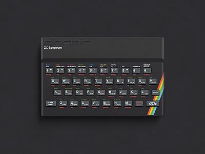 ZX Spectrum vector photoshop illustration